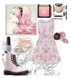 """""""Untitled #389"""" by kathrynrose42 ❤ liked on Polyvore featuring Red Camel, OPI and Dr. Martens"""