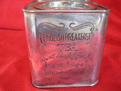 Vintage Silver Plated English Tea cannister by VintageandReclaimed