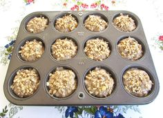 Raw Vegan, Deserts, Muffin, Breakfast, Ethnic Recipes, Sweets Recipes, Food, Cookies, Diet