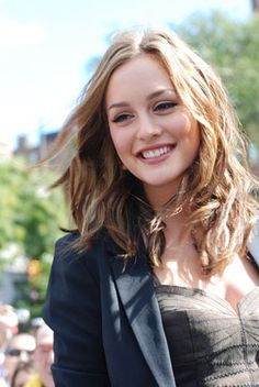 Leighton Meester. I think it would be really fun to play a character like Blair Waldorf!