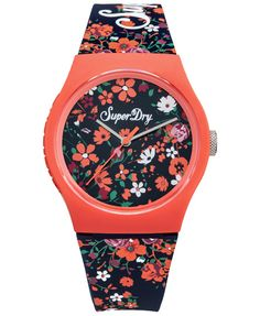 1d9b5b12d1aaf #superdry Superdry women's Urban Ditsy watch. This genuine timepiece  features a floral dial pattern