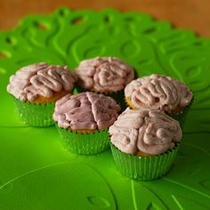 A Duck's Oven: Brain Cupcakes