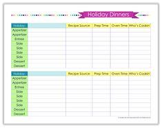Recipe Binder Organization I NEED THIS! Organizing Home Life is giving away a Binder and printables this week! My HUGE family would really benefit!