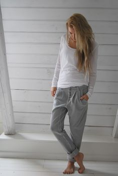 Comfy clothes....ahhhh....now, I just need a cup of hot chocolate and a great book.