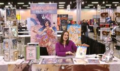 Welcome to Part 3 of my Artist Alley 101 guide! This is meant to be a good start for those who have never been a part of an artist alley. Artist Alley Displaying Your Work/DOs n DONTs Craft Show Table, Postcard Display, Comic Conventions, What To Sell, Artist Alley, Book Show, Art Fair, Art Blog, Photo Art