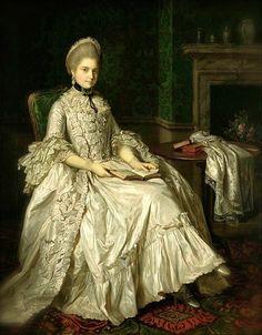 Nathaniel Dance-Holland, Maria Walpole, Duchess of Gloucester, ca. 1766-69
