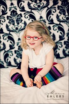 Too much cuteness for one picture! (Maris Ehlers Photography). Get your little one's vision checked at http://drrosenak.com/. #eyeglasses