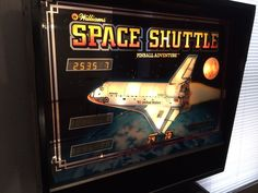 williams space shuttle pinball adventure