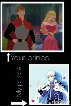 "Am I right? My prince is Prince Zen from ""Snow white with the red hair"""