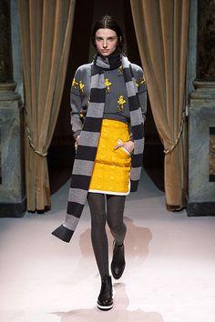 Fay Fashion Show Fall-Winter 2014/15. Women's Collection designed by Tommaso Aquilano and Roberto Rimondi
