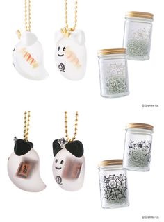 2015 Q-pot Halloween necklace and container