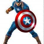 Centro de Mesa Vingadores Capitão América 1 1 -2