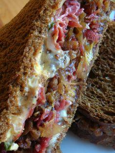 Reuben Sandwiches.