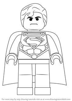 23 En Iyi Süperman Görüntüsü Superman Coloring Pages Superhero Ve