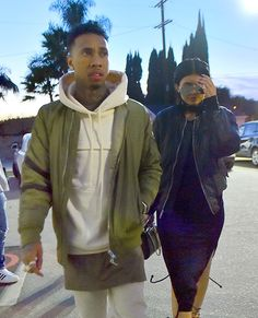 Kylie Jenner and Tyga looked SO mad while on a frozen yogurt date!