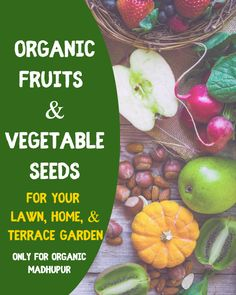 Buy Organic Vegetable and Flower Seeds For Your Lawn, Home, & Terrace Garden For more details click below link:- Organic Seeds, Organic Fruit, Organic Vegetables, Seeds Online, Terrace Garden, Flower Seeds, Lawn, Flowers, Food