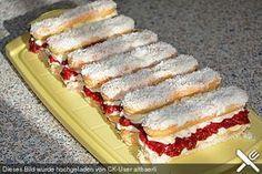 Mascarpone - Stäbchen, ein schmackhaftes Rezept aus der Kategorie Kuchen. Bewertungen: 61. Durchschnitt: Ø 4,5.