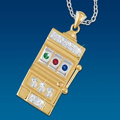 Lady Luck Diamond Pendant - The Danbury Mint