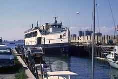 Block Island Ferry, Steam Motor, Woods Hole, Fall River, East Coast, New England, Coastal, Ships, Boats