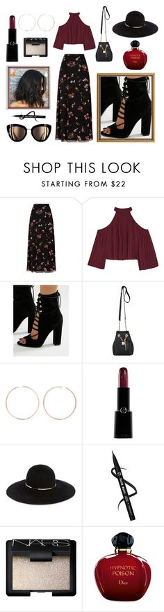 """"" by nicolesauviat ❤ liked on Polyvore featuring RED Valentino, W118 by Walter Baker, Kendall + Kylie, MICHAEL Michael Kors, Anita Ko, Giorgio Armani, Eugenia Kim, NARS Cosmetics and Christian Dior"