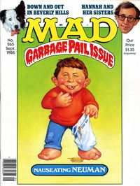 Garbage Pail Kids In Print MAD Magazine | GEEPEEKAY
