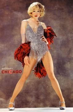 RENEE ZELLWEGER as Roxie Hart PICTURES PHOTOS and IMAGES