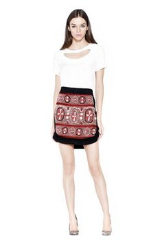 Asian skirt by Carlos Miele