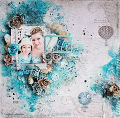 Just My Scrapping World.. : A layout for Maja Design