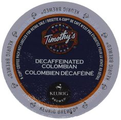 Timothy's Colombian Decaf Coffee Keurig K-Cups * Be sure to check out this awesome product.