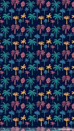 Wallpaper, coqueiros