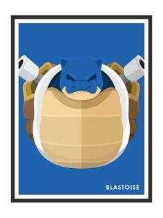 Blastoise by Remi Milleret Millimade