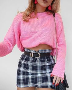 """9,639 Likes, 46 Comments - boohoo.com (@boohoo) on Instagram: """"MAJOR Clueless vibes RN  Search JUMPER:DZZ32096 SKIRT: DZZ30559 or shop via link in bio…"""""""