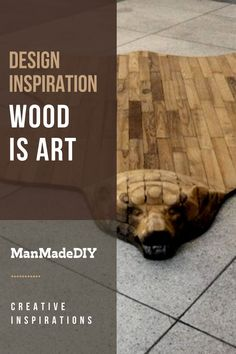 """While a few of my pieces of shop-born furniture are what I would consider """"nice"""", nothing that comes out of my shop is art – yet. I'm still learning. Take a look at these unique pieces // Art Inspirations // Wood Art // Art // Home Decor // Creative Inspiration, Design Inspiration, Natural Line, Wood Art, I Shop, Art Art, Nature, Animals, Learning"""