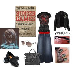 """Hunger Games"" by rew1095 on Polyvore"