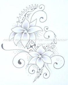 Fleur tribale du net