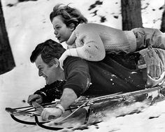 shares a ride on a sled with his father at the family's McLean, Va., home in December The boy was diagnosed with cancer that year and had to have a leg amputated. I used to sit next to him at Church every Sunday. Rosemary Kennedy, Familia Kennedy, Los Kennedy, Political Figures, Life Goes On, Us History, Jfk, Famous People, Style