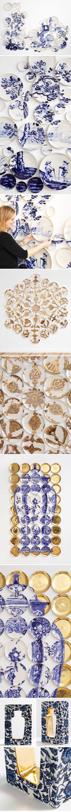 molly hatch - fine art ceramic installations <3