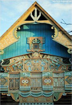 Russian, wooden embellishment