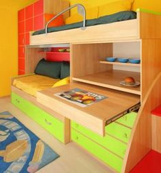 Bunk Beds with Study Tables