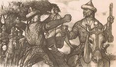 . Warriors, History, Artwork, Painting, Historia, Work Of Art, Auguste Rodin Artwork, Painting Art, Artworks