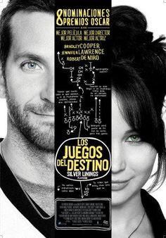 Los Juegos del Destino (Silver Linings Playbook) cuenta con 8 Nominaciones a los Premios Oscar.