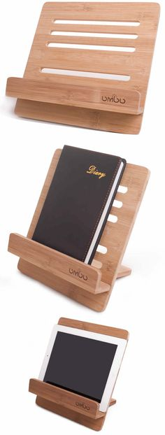 Bamboo Wooden iPad Stand holder Reading Stand