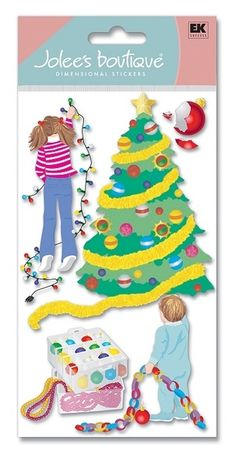 Christmas > Tree Decorating 3D Stickers - Jolee's Boutique: Stickers Galore  $5.49
