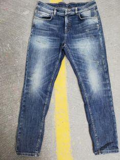 REPLAY Pantaloni Jeans Uomo ronas REGULAR FIT DENIM BLU FASHION TREND STYLE sale