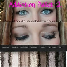 Younique addiction pallet 2 Shop my website www.fabulouslashesfordays.com