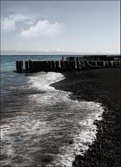 Black Sand Beach of Lake Superior