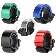 Sports MTB Car Bell Tool Aluminum Cover Rubber Band Bell 1Pc Bike Bicycle Bell