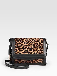 Christian Louboutin Farida Leopard-Print Haircalf Messenger...Saw Rachel Weisz wearing it and fell in love...hate the pricetag though!
