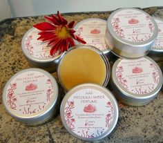Pure Amber- PATCHOULI solid Perfume with Amber resin and Patchouli  essential oil. $8.99, via Etsy.