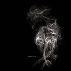 MAE Curates - Matador  - Abstract photography (imagery from smoke) For Sale at 1stdibs